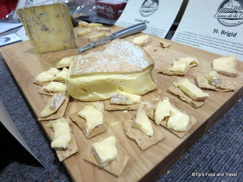 The St. Brigid from Creme de la Coulee Artisan Cheese