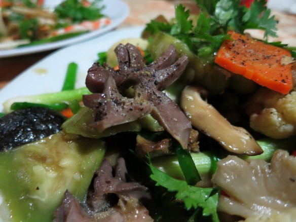 how to cook duck liver and heart