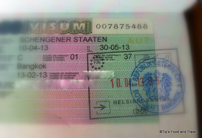 How to apply for Schengen visa in Bangkok