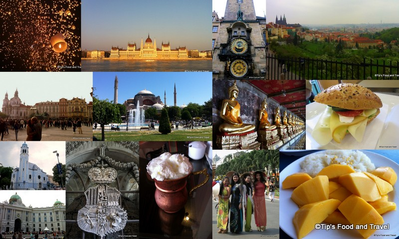My nine international journeys in 2013