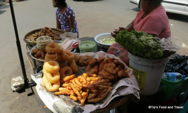 street snack in Yangon
