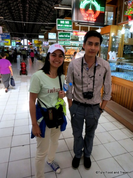 with Kate Thantup, Thai actor