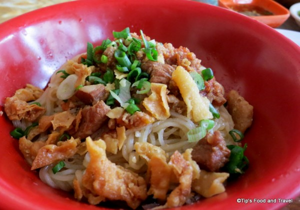 Shan noodle (salad) Chicken/Pork