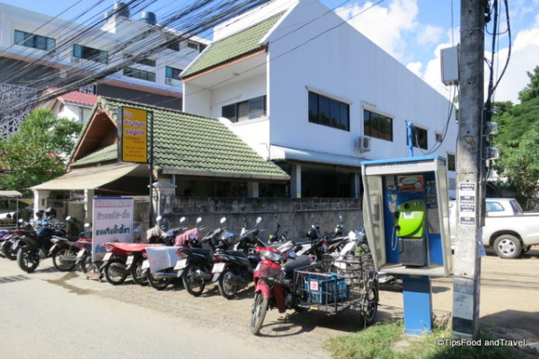 Parking lot-Kao Soi Mae Sai